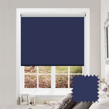Blackout Roller Blind Bermuda True Blue